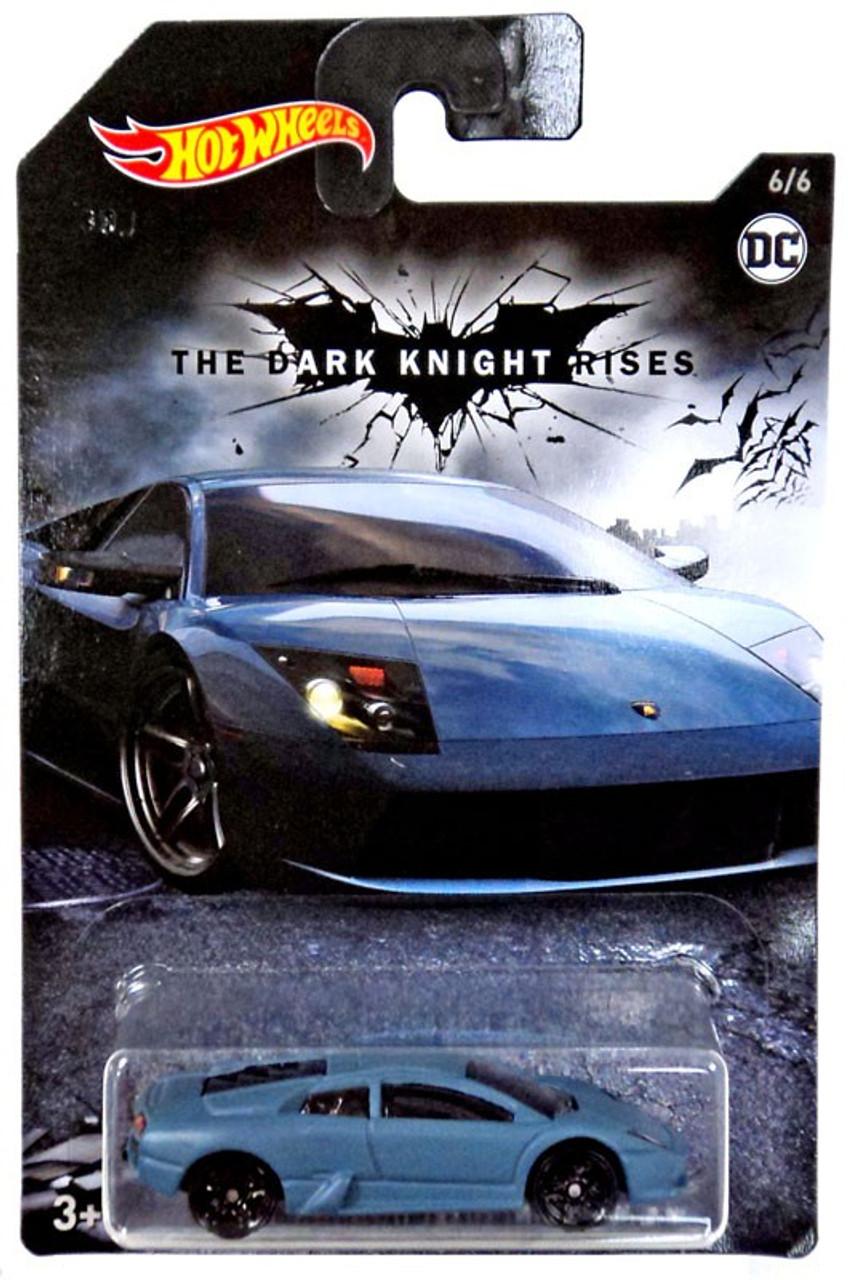 Hot Wheels The Dark Knight Rises Batman Lamborghini Mucielago 164