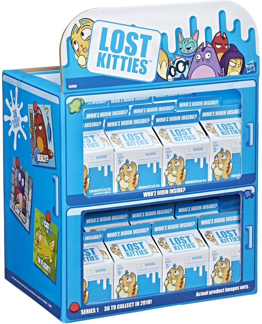 Hasbro Lost Kitties Sealed Blind Box Carton Pack Lot of 4 Series 1 Wave 3