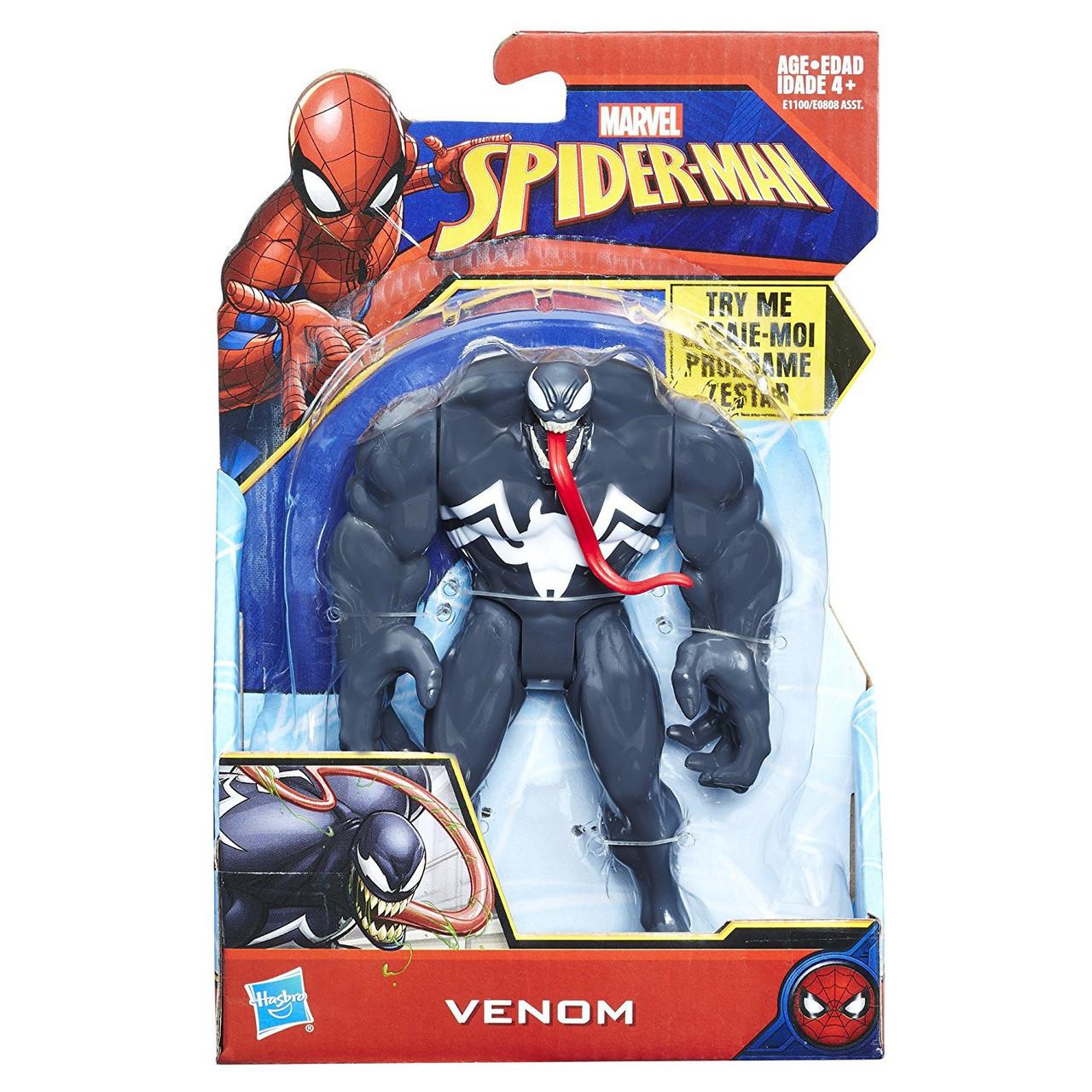 "1x VENOM w// TONGUE MARVEL SPIDER-MAN EXCLUSIVE 2/"" COLLECTIBLE MINI FIGURE"
