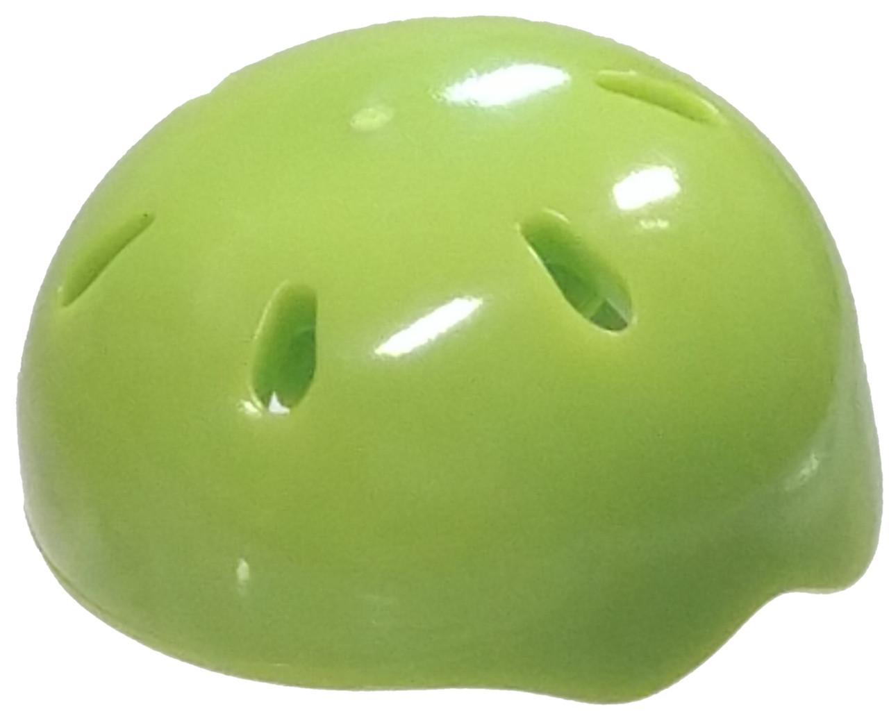 b4dbd1ae LEGO Headgear Lime Green Bike Helmet Loose - ToyWiz