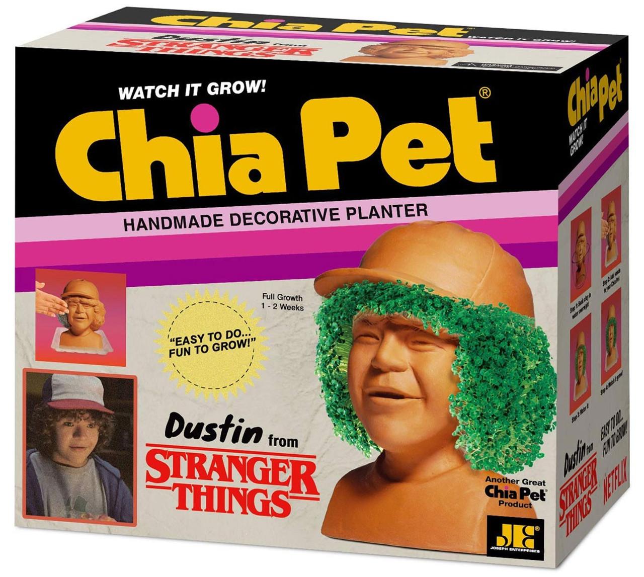 NECA Stranger Things Chia Pets Dustin Chia Pet