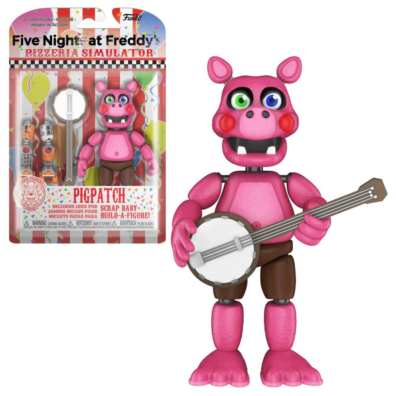 Fnk Toys FNAF Five Nights at Freddy/'s Pizza Simulator PIGPATCH Figure
