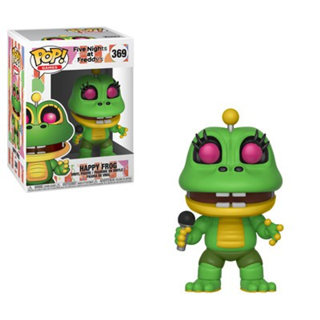 Five Nights At Freddy /'Simulador De Pizza-Rana feliz #369 vinilo Funko Pop!