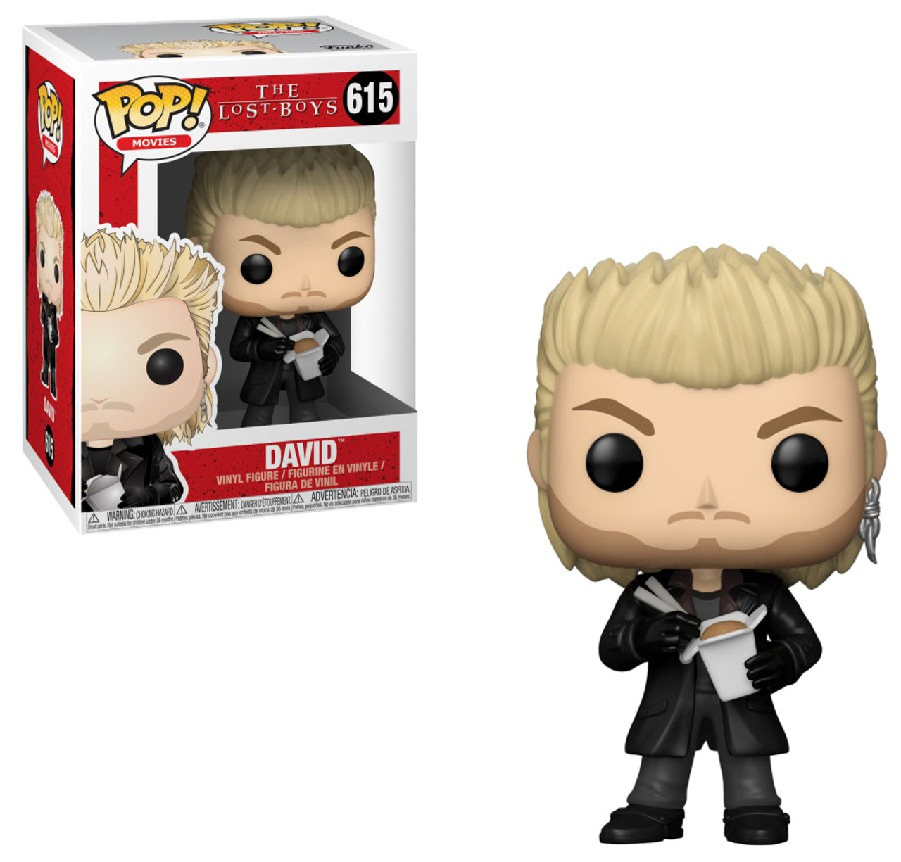 33c971c98e3 Funko The Lost Boys Funko POP Movies David with Noodles Vinyl Figure 615 -  ToyWiz