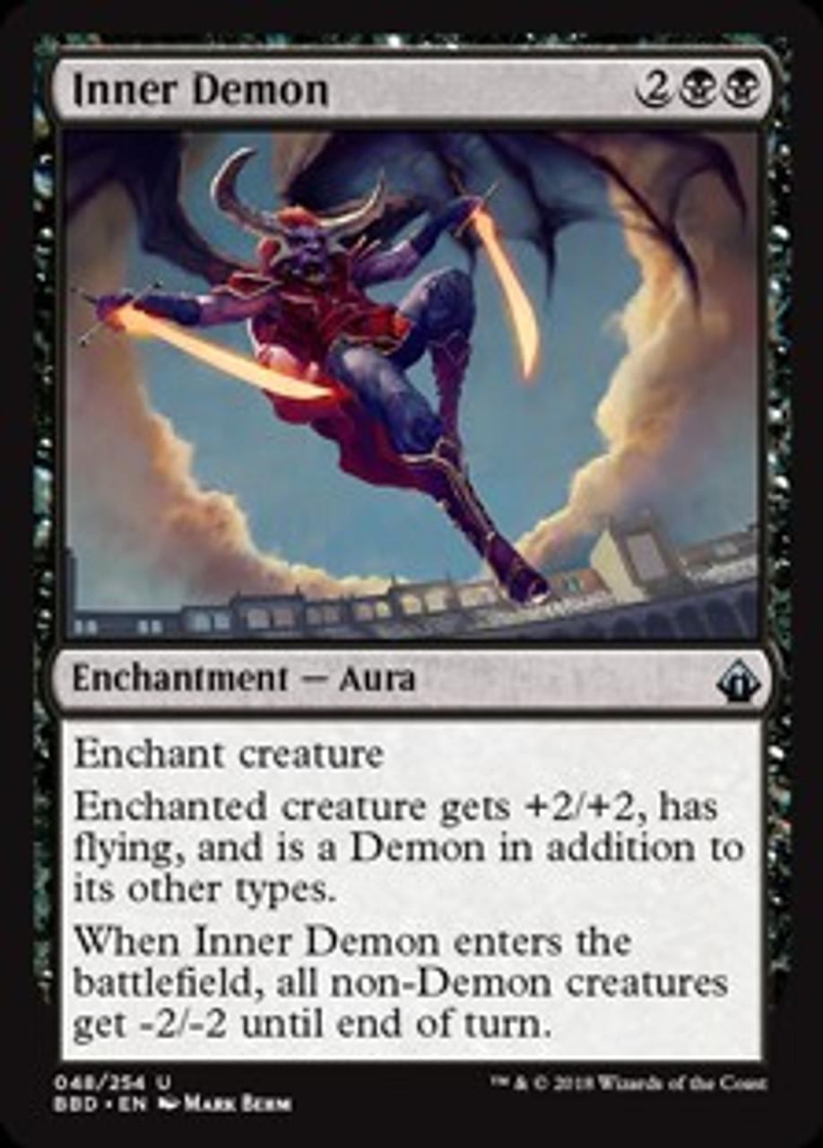 Inner Demons Roblox Magic The Gathering Battlebond Single Card Uncommon Inner Demon 48 Toywiz