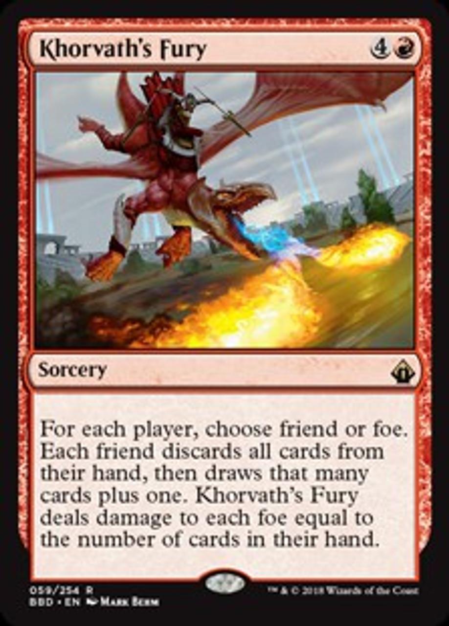 Khorvath Brightflame rare BATTLEBOND MTG Magic The Gathering