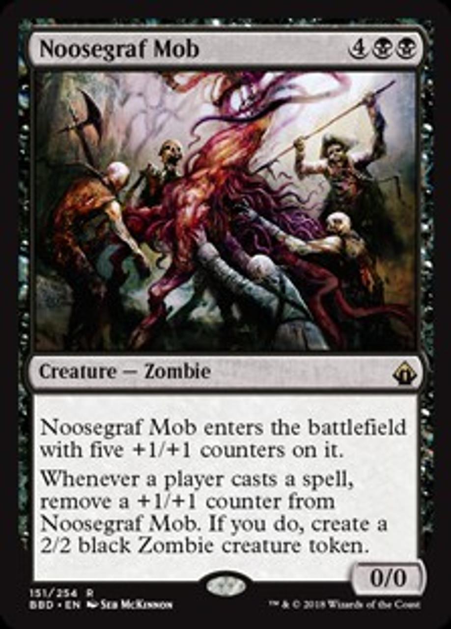 MtG Battlebond Rare Foil Noosegraf Mob #151