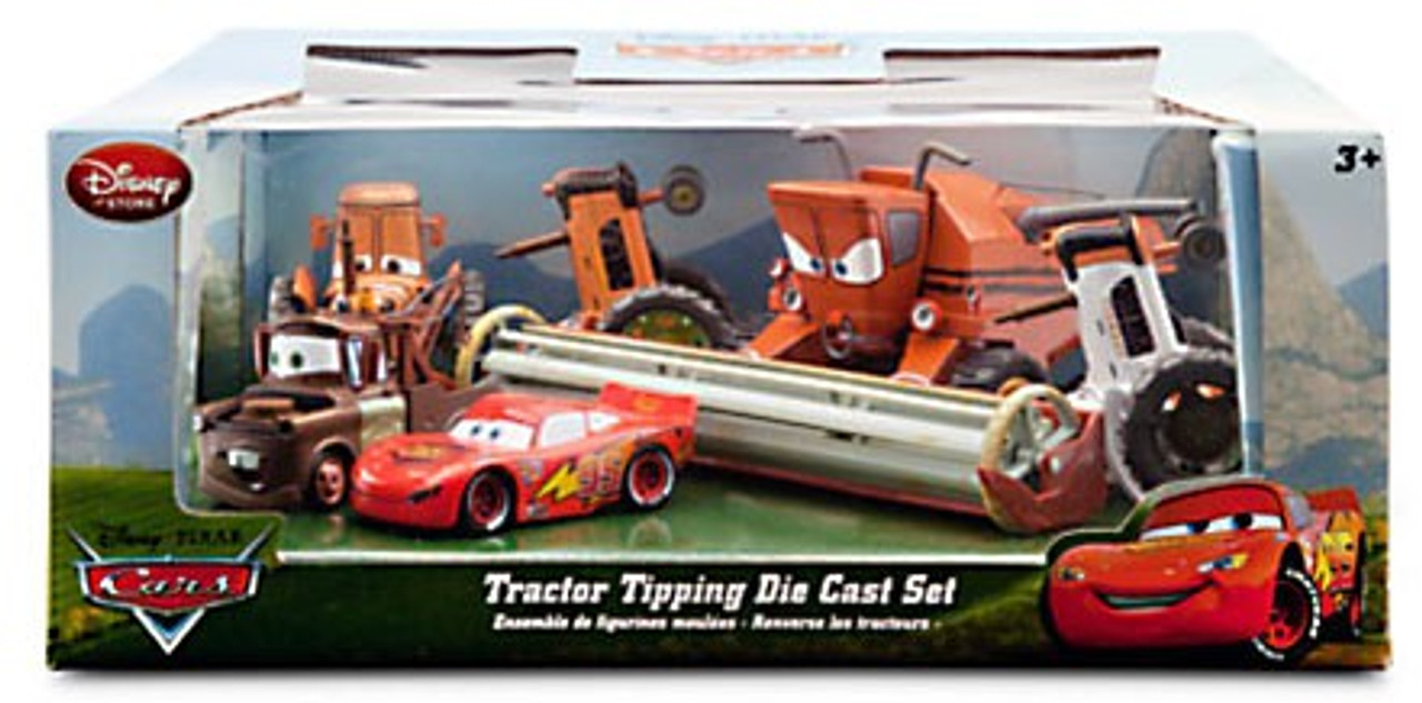Disney Pixar Cars Tractor Tipping Exclusive 148 Diecast Car Set ...