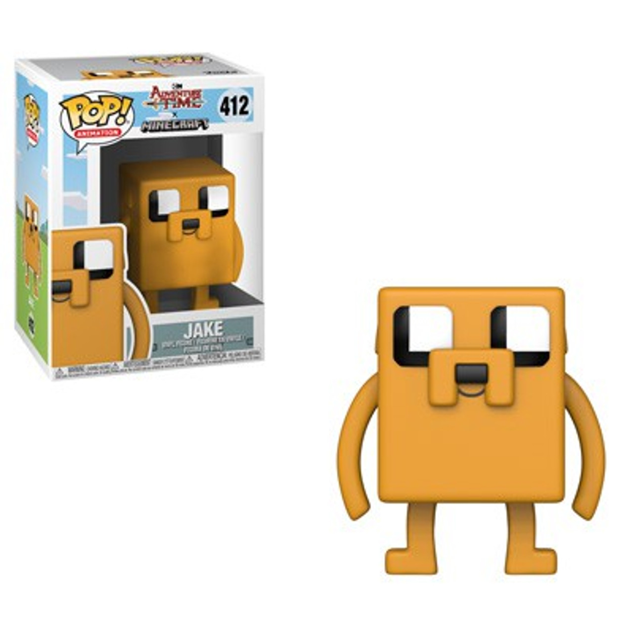 "ADVENTURE TIME JAKE POCKET POP KEYCHAIN 2/"" FIGURE FUNKO BRAND NEW"