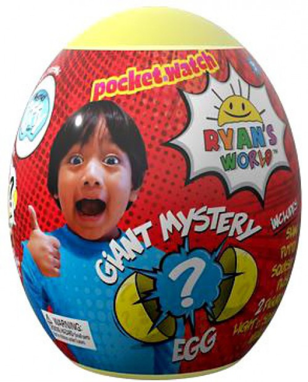 Ryans World Surprise Mystery Egg Red