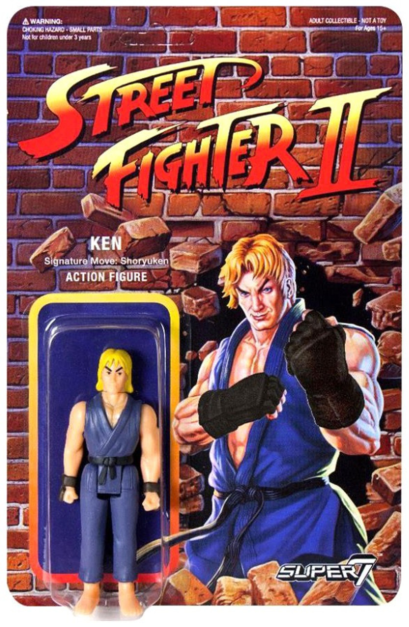 Reaction Street Fighter Ii Ken Exclusive Action Figure