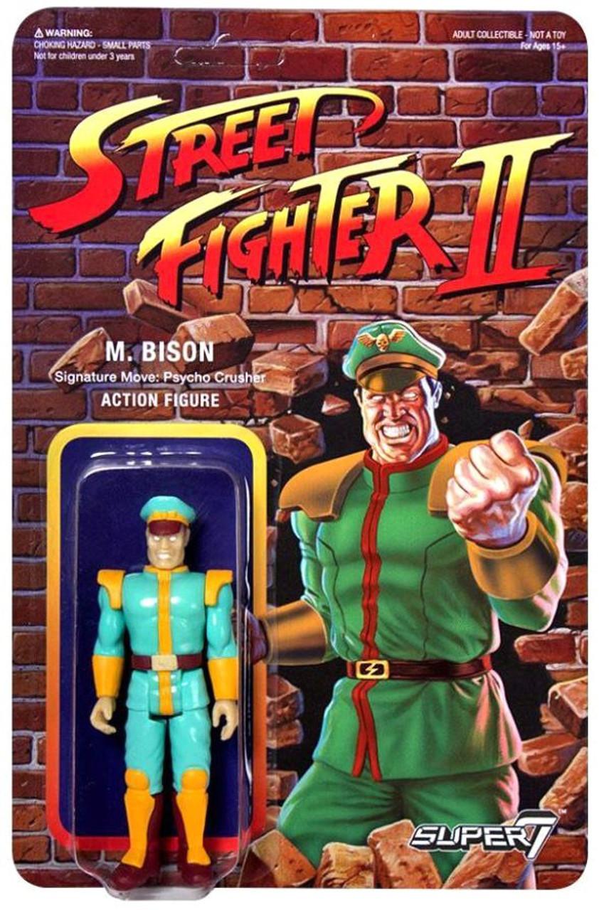 Reaction Street Fighter Ii M Bison Exclusive Action Figure