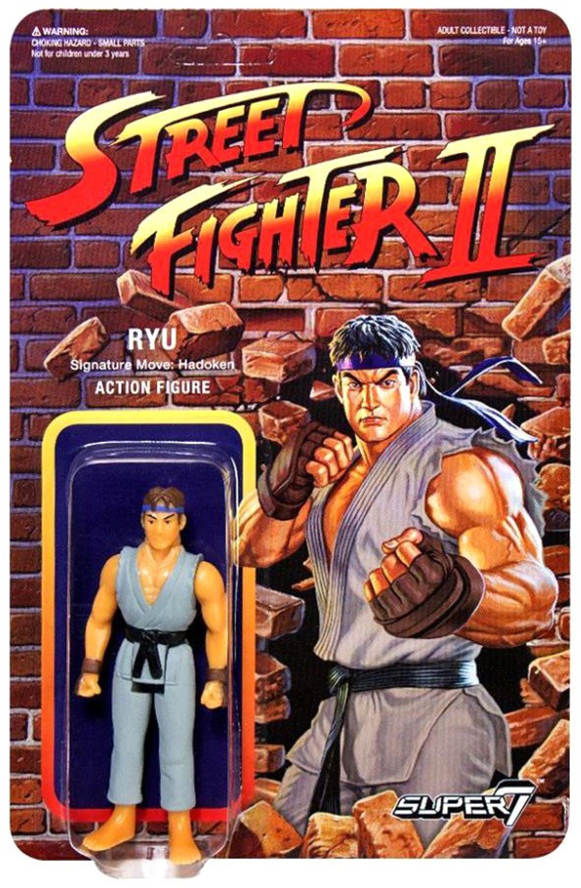 Reaction Street Fighter Ii Ryu Exclusive Action Figure