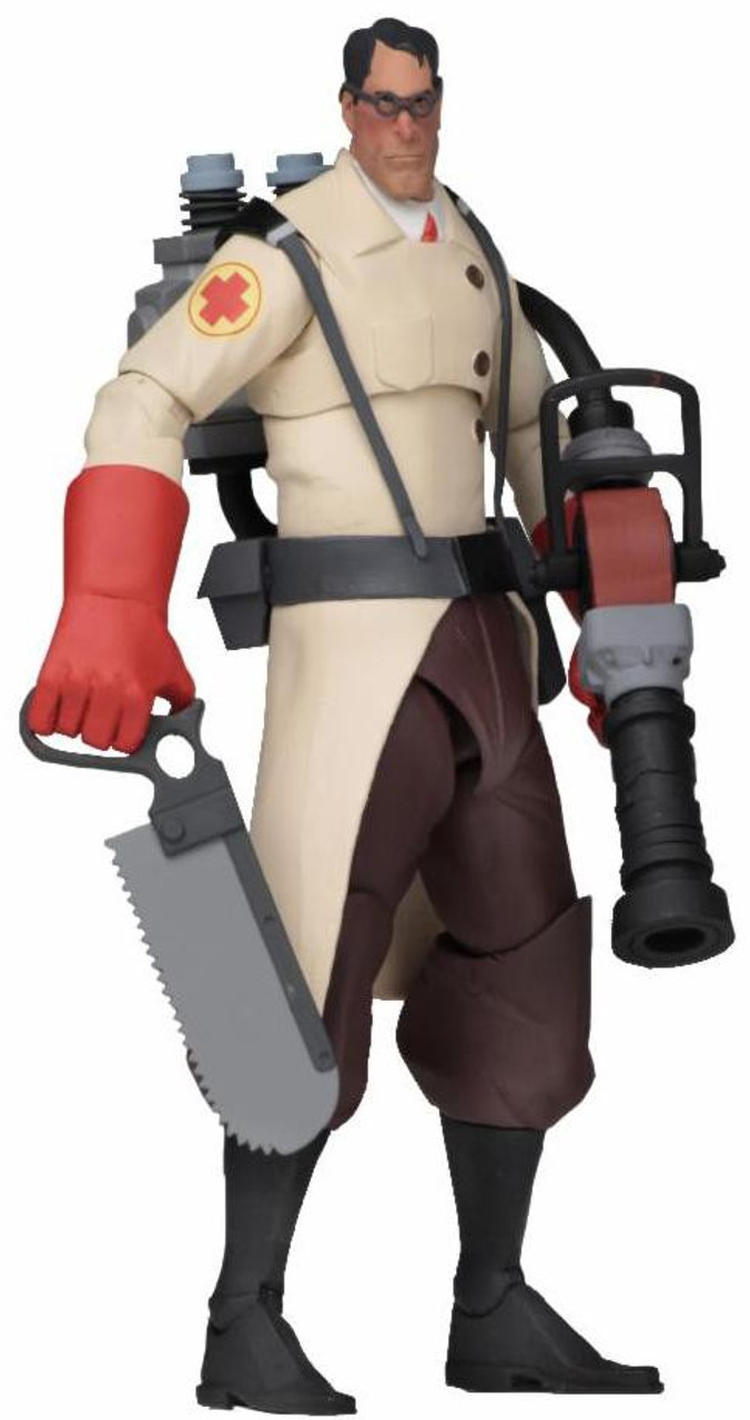 NECA Team Fortress 2 RED Series 4 Medic 7 Action Figure - ToyWiz