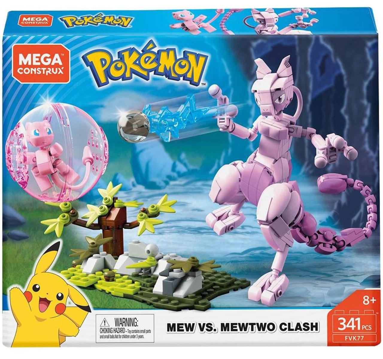 Pokemon Mega Mewtwo X /& Y High Detail Action Figure 3 inch Set