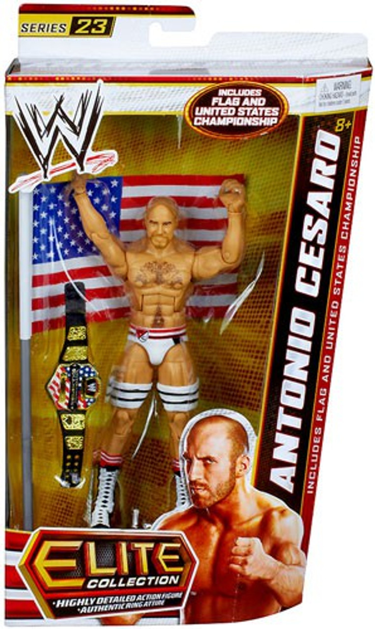 Card not mint Mattel WWE Basic Series 73 Cesaro