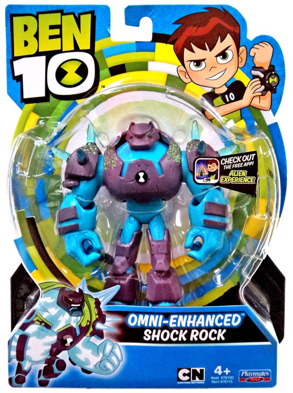Ben 10 Power Up Figure Deluxe Heatblast with Light /& Sounds FREE POSTAGE