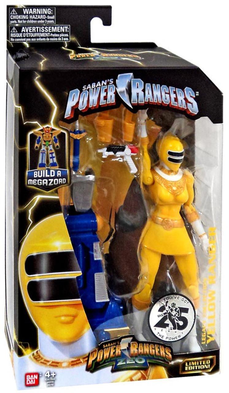Power Rangers Zeo ~ BLUE RANGER LEGACY ACTION FIGURE ~ Damaged Box ~ Bandai
