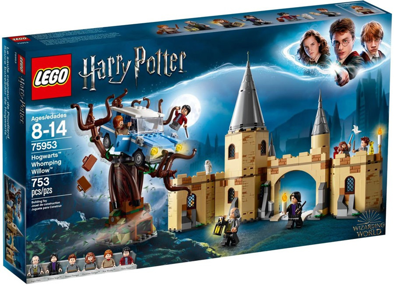 lego harry potter hogwarts whomping willow set 75953 - toywiz