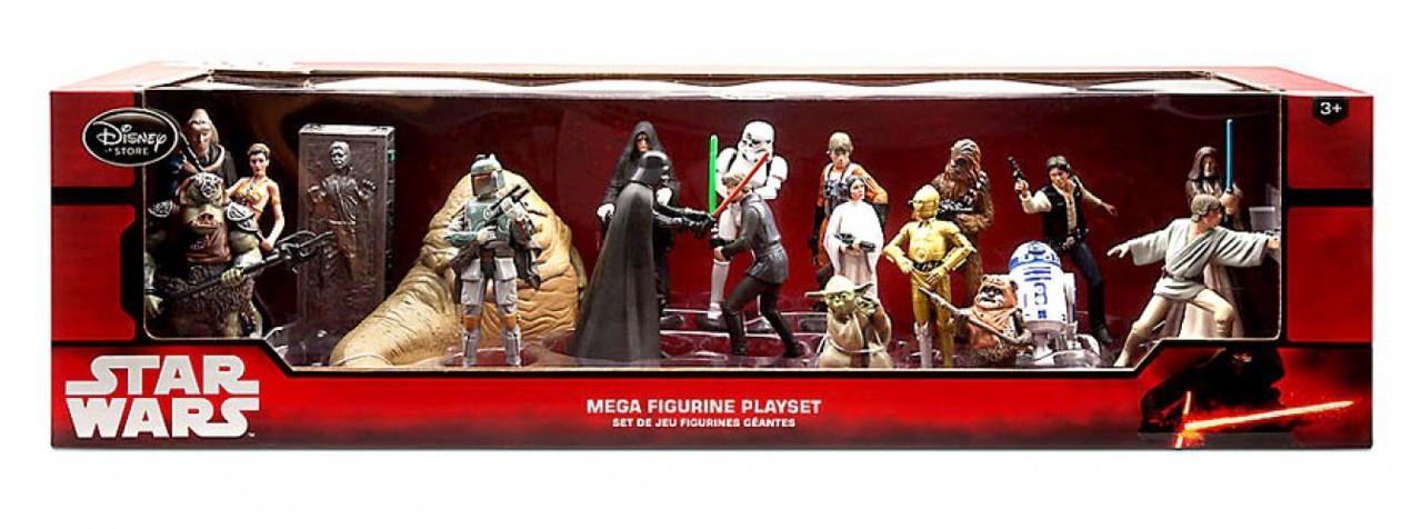 Disney 2019 Star Wars 20-Piece PVC Mega Figurine Playset