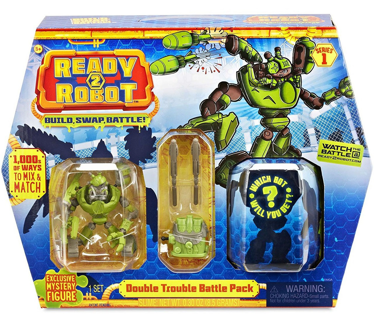 DOUBLE Trouble Battle Pack-Ready 2 Robot-Series 1