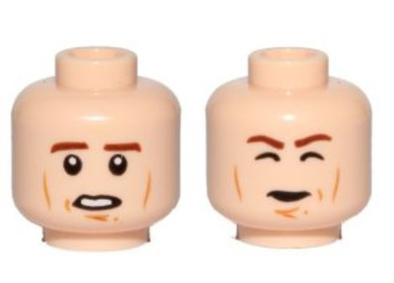 LEGO Star Wars LEGO Minifigure Parts Cheek Lines, Open Mouth