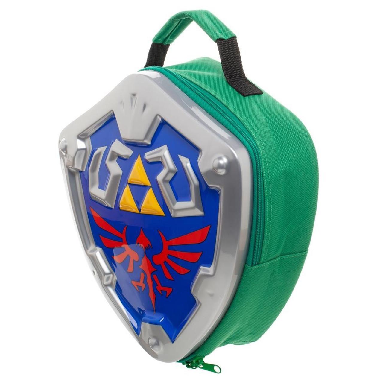 93035edd4590 The Legend of Zelda Skyward Sword Link Hylian Shield Molded Lunch Box  Bioworld LD - ToyWiz