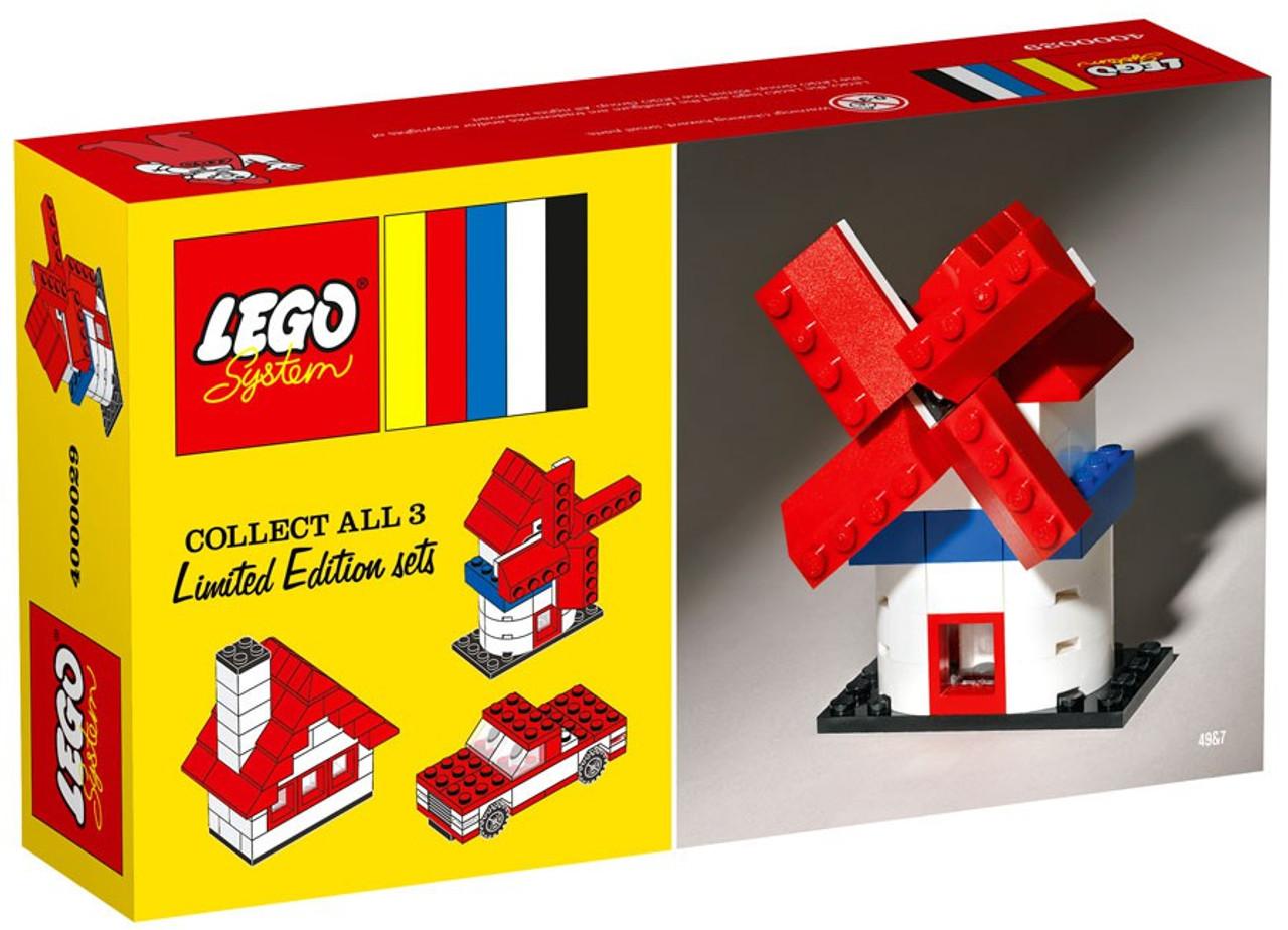LEGO System Limited Edition Sets Windmill Set 4000029 - ToyWiz