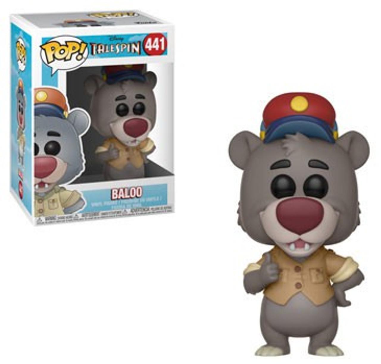 Baloo Disney Afternoons Funko Mystery Mini Vinyl Figure 1//36 Tailspin