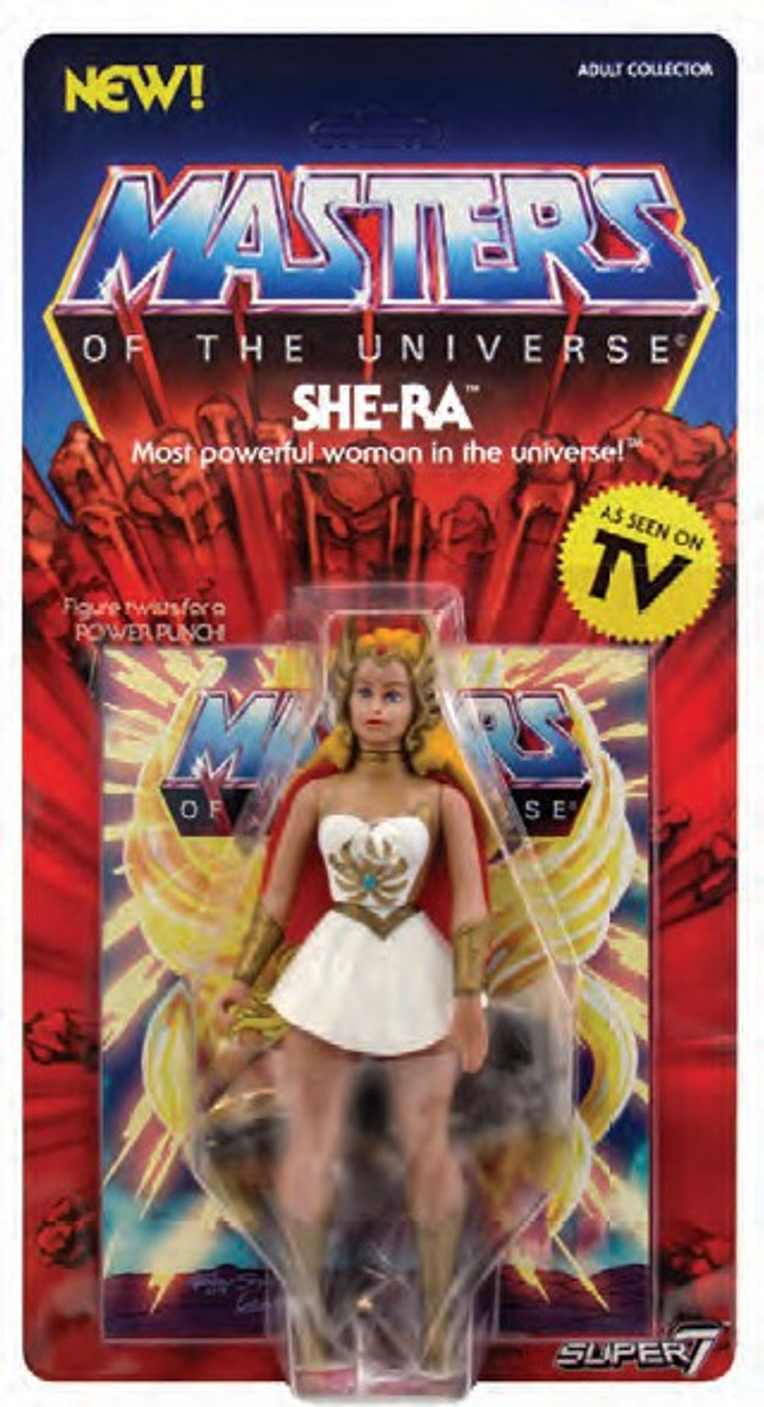 Vintage She-ra 5.5 inch Action Figure NEW Super7 Masters of the Universe MOTU