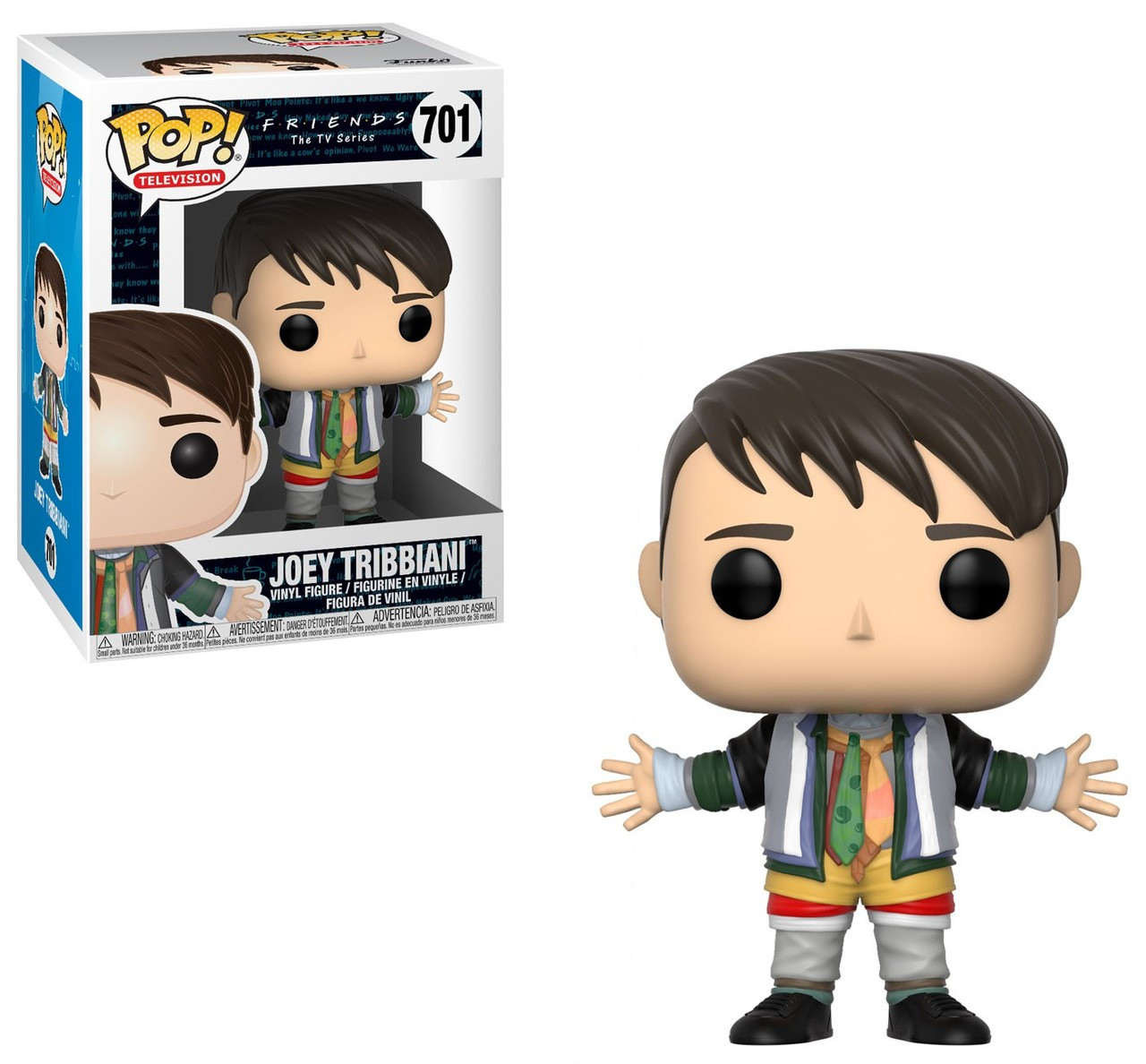 Friends Funko POP! TV Joey in Chandler's Clothes Vinyl Figure #701