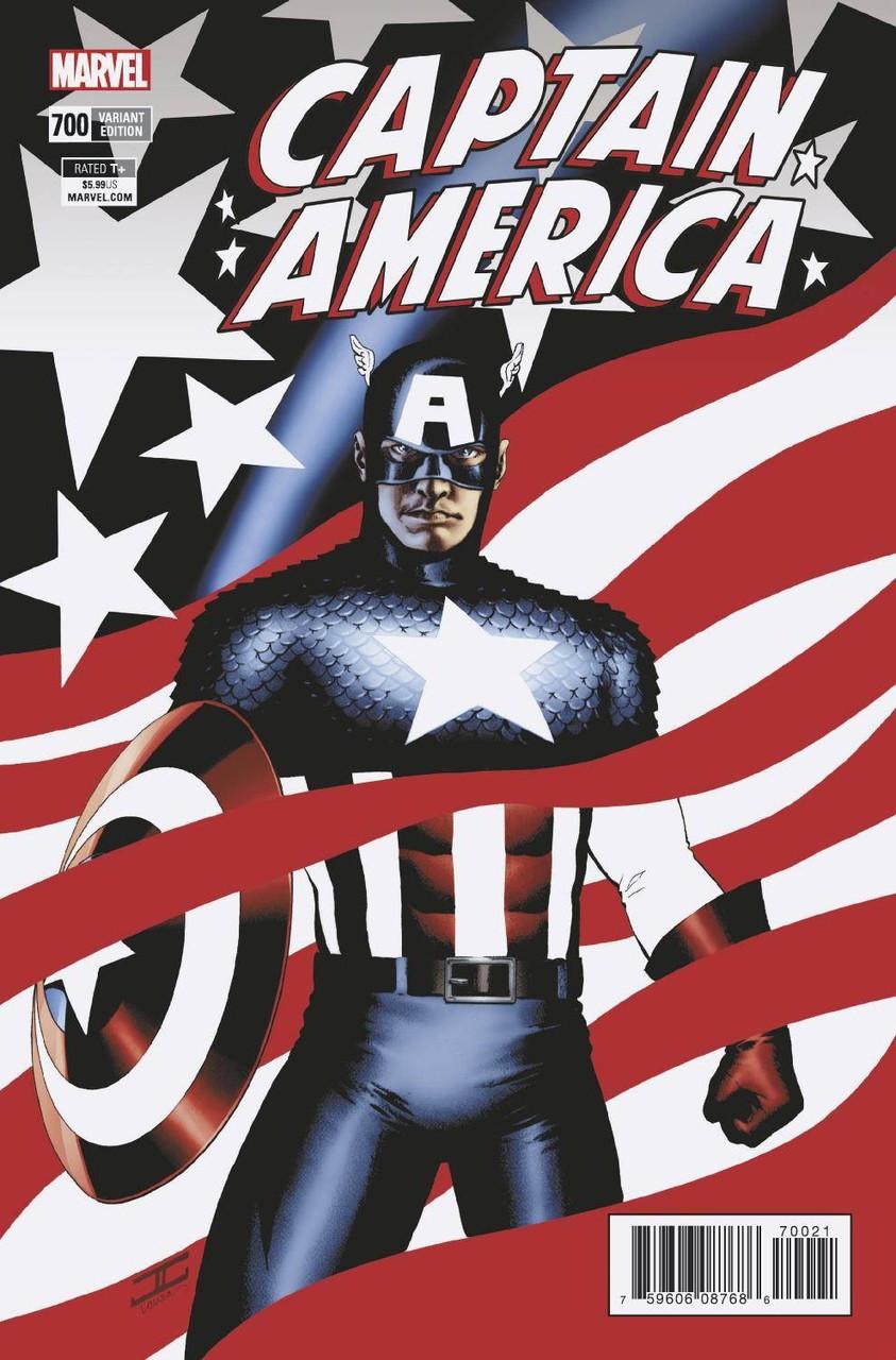 Resultado de imagen para Captain America #700 variant cover