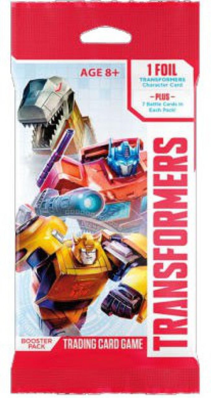 Transformers TCG Trading Card Game Base Set Booster Pack [8 Cards]