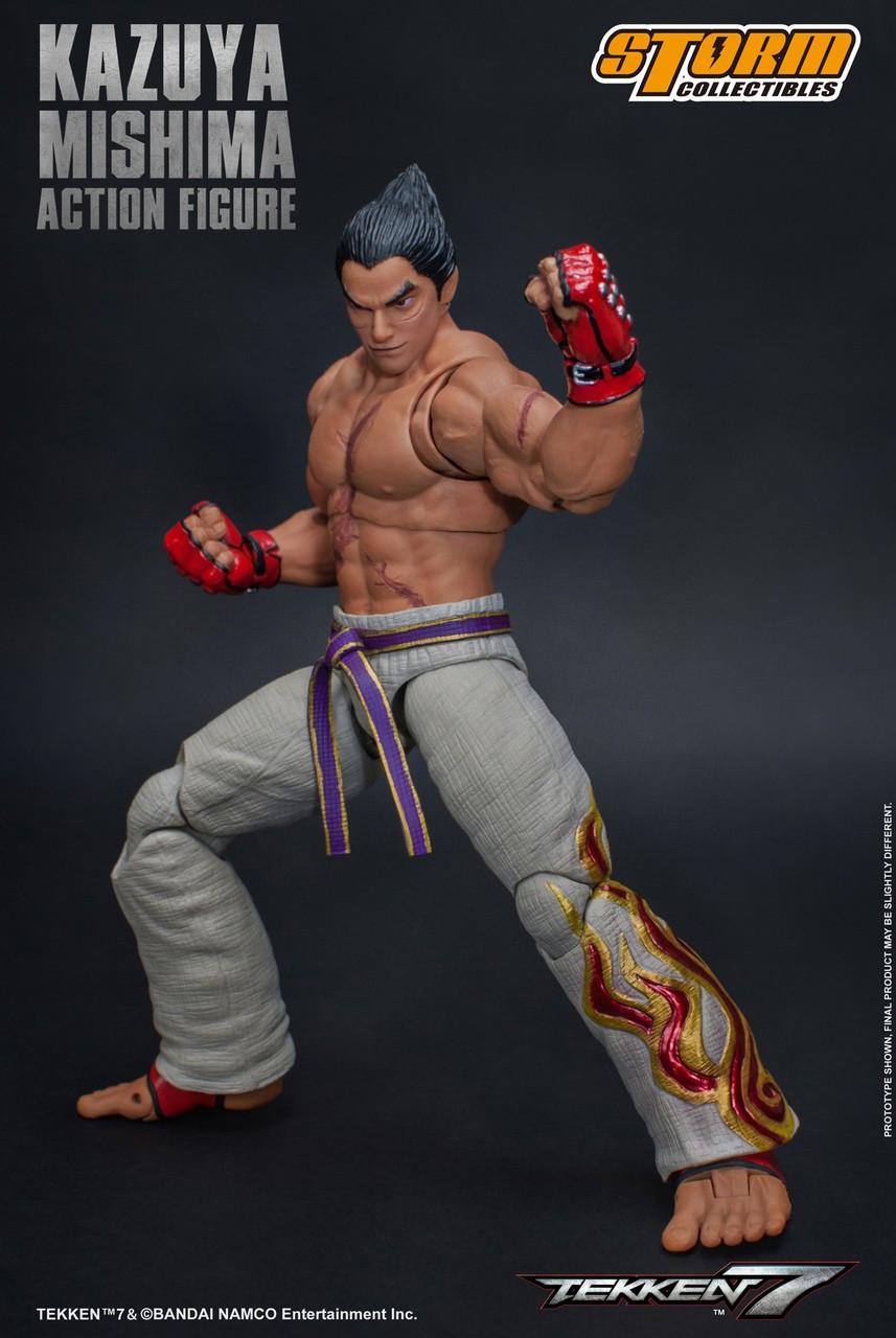 Tekken 7 Kazuya Mishima 112 Action Figure Storm Collectibles Toywiz