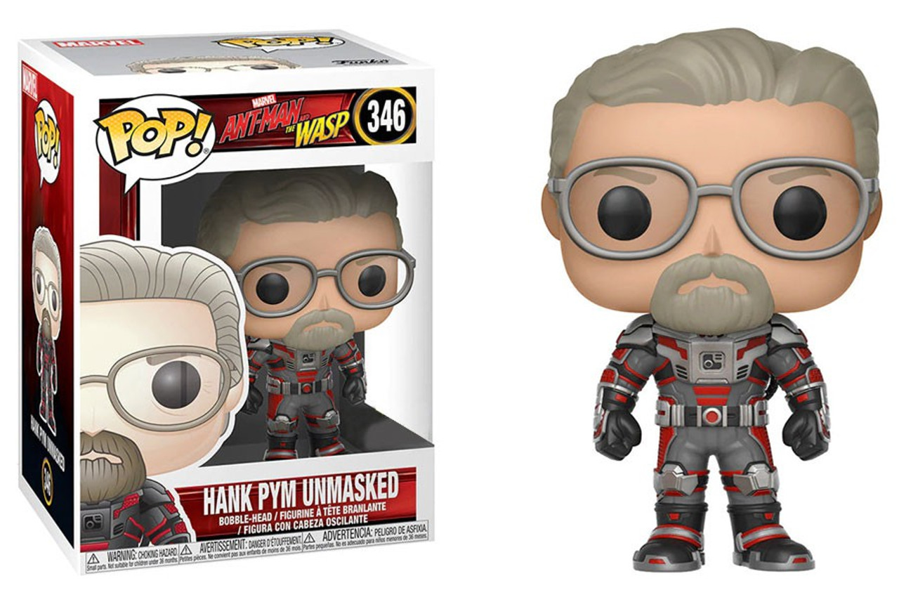 Funko Marvel Ant-Man and the Wasp Funko POP Marvel Hank Pym Unmasked  Exclusive Vinyl Figure - ToyWiz 7a44444479ba