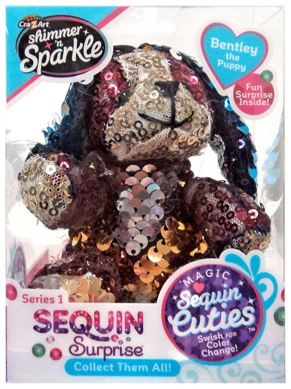 CRA-Z-ART Magic Sequin Cuties Sequin Surprise Happy the Hedgehog 1 NEW IN BOX