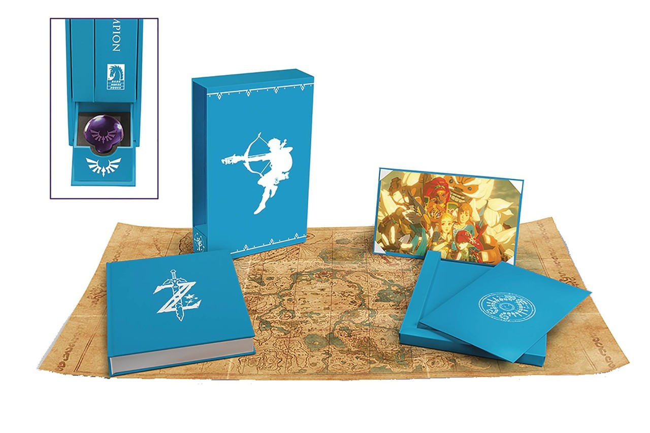 The Legend of Zelda Breath of the Wild Creating a Champion Hardcover Book Heros  Edition Dark Horse - ToyWiz