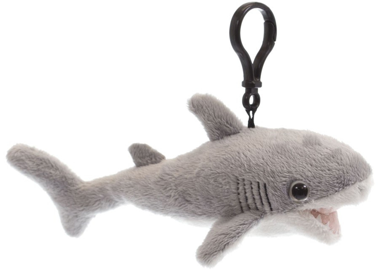 Discovery Shark Week Great White Shark 7 Plush Clip On Dandee Toywiz