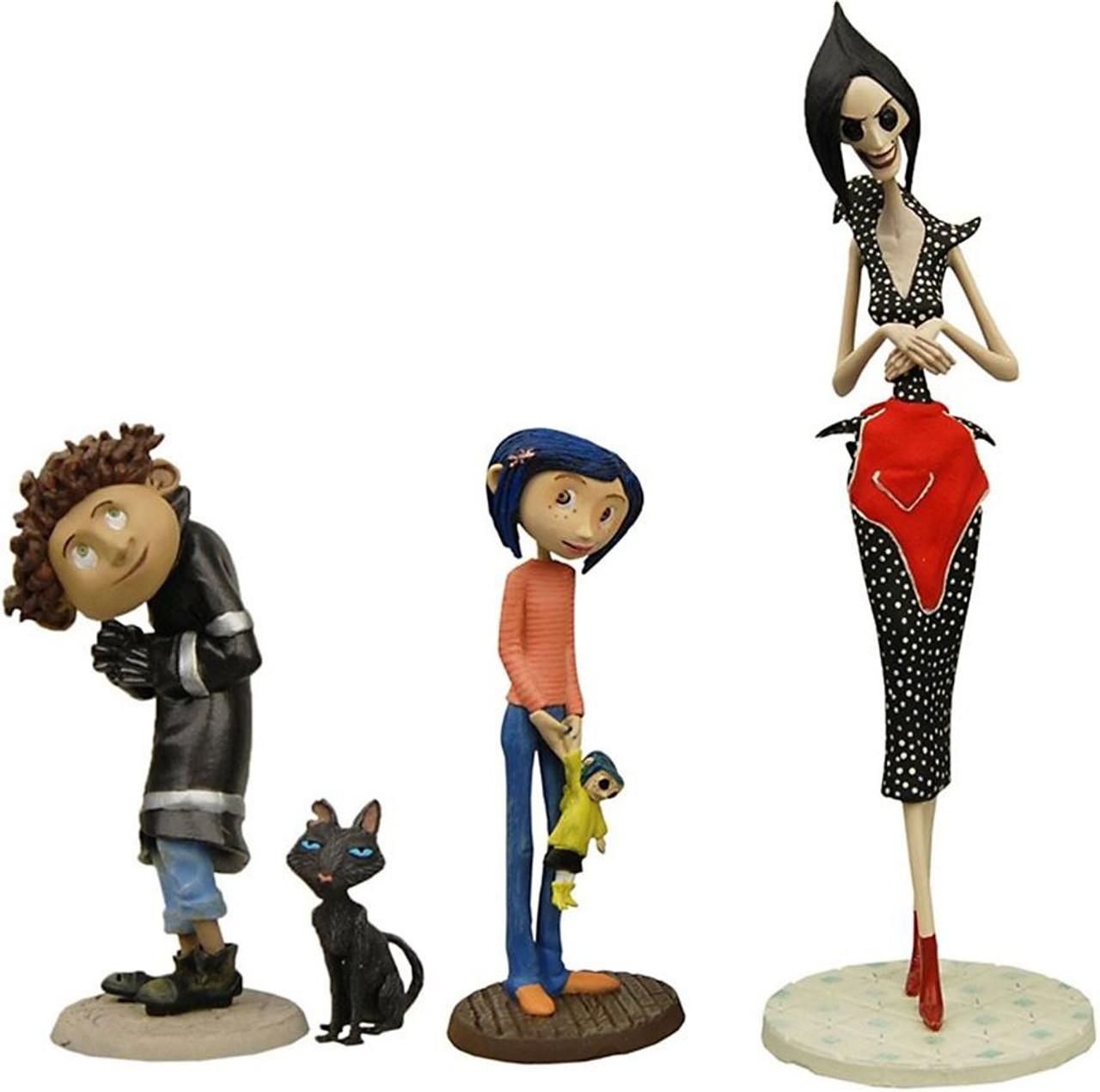 672dcb5b820 NECA Coraline Best of Coraline 4-Piece PVC Set - ToyWiz
