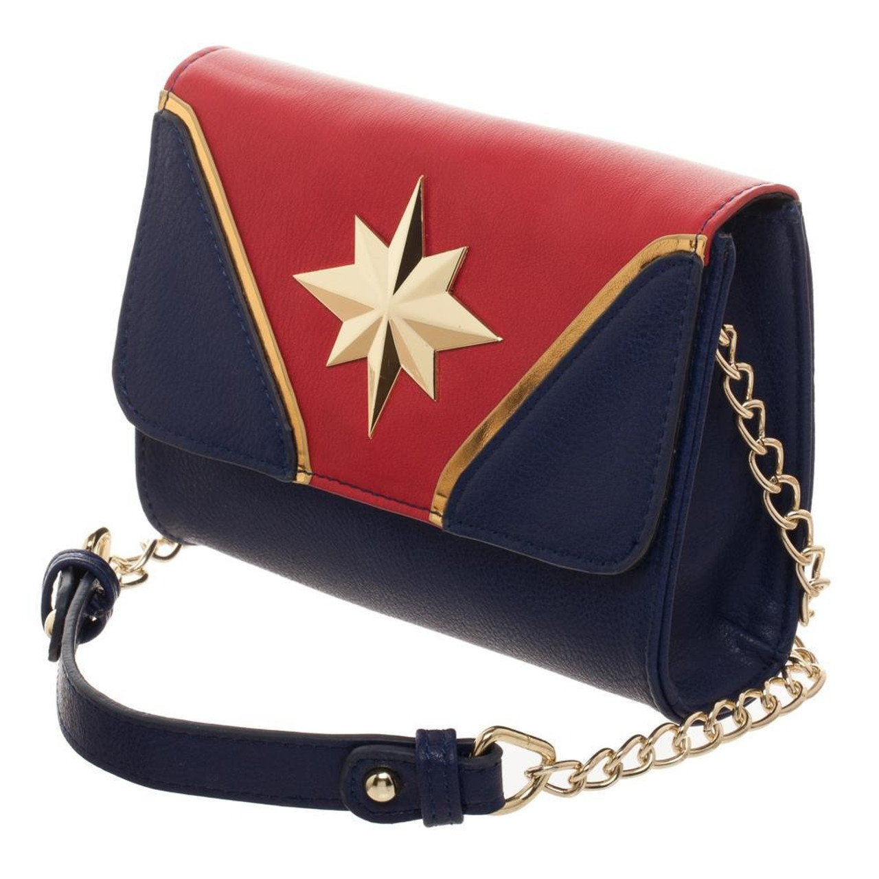 150bd953cf Captain Marvel Captain Marvel Cross Body Handbag Bioworld - ToyWiz