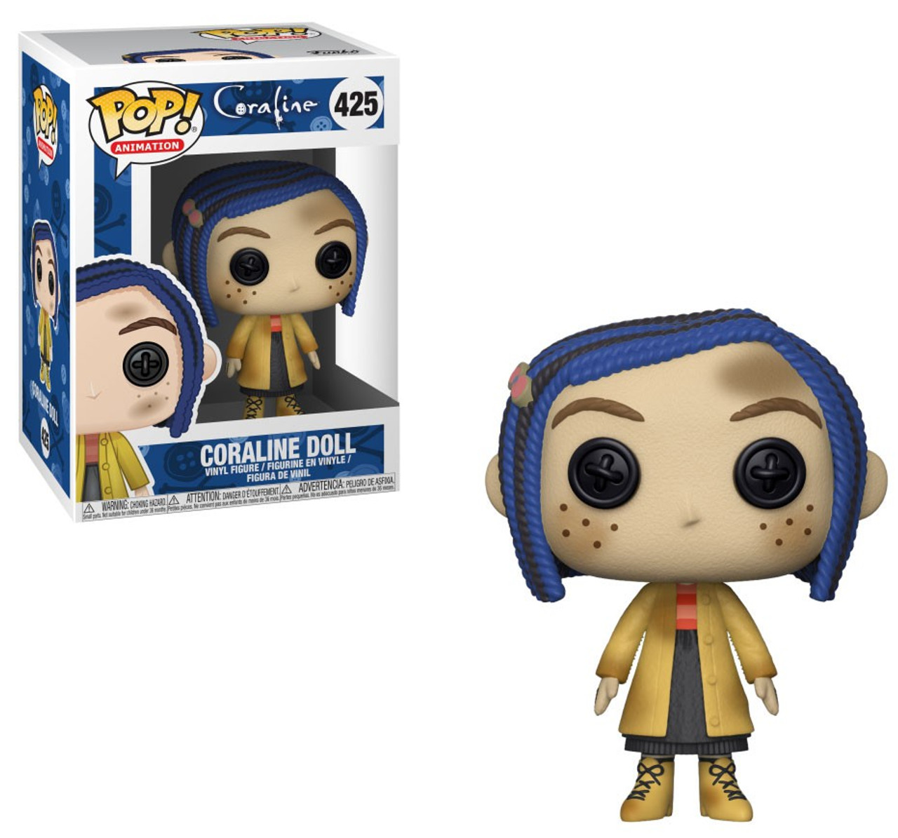 Funko Coraline Pop Animation Coraline Doll Vinyl Figure 425 Toywiz