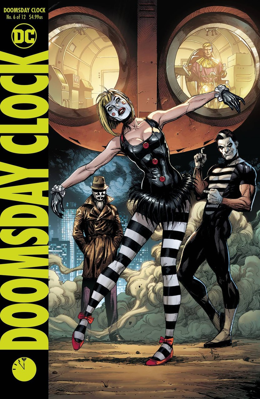 Dc Doomsday Clock Comic Book 6 Variant Dc Comics Toywiz