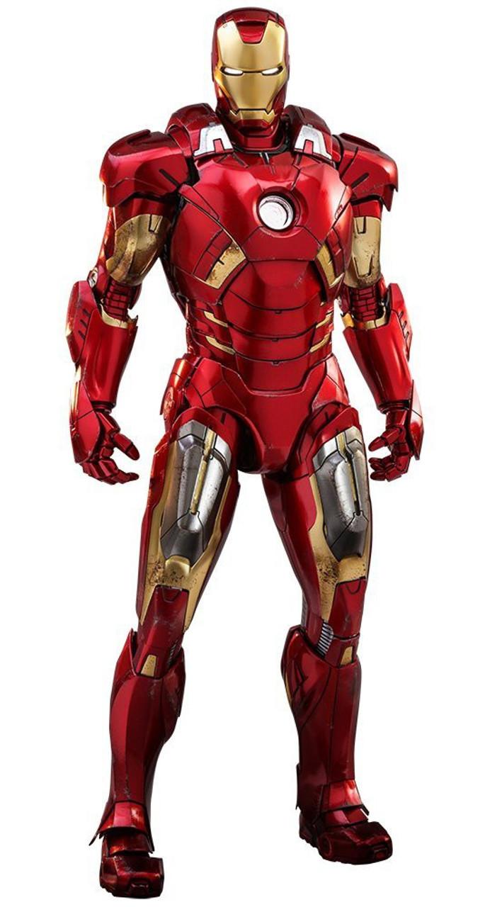 Marvel Avengers Movie Masterpiece Iron Man Mark Vii 16 Diecast