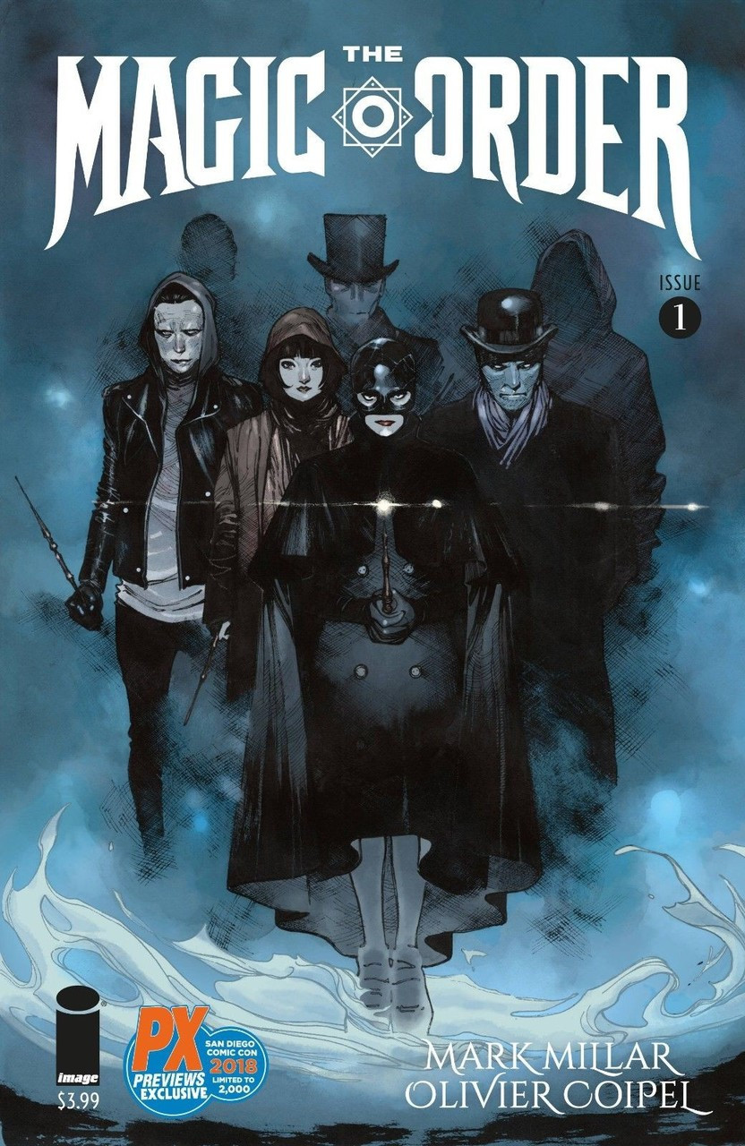 Image Comics The Magic Order Exclusive Limited to 2000 Comic Book 1