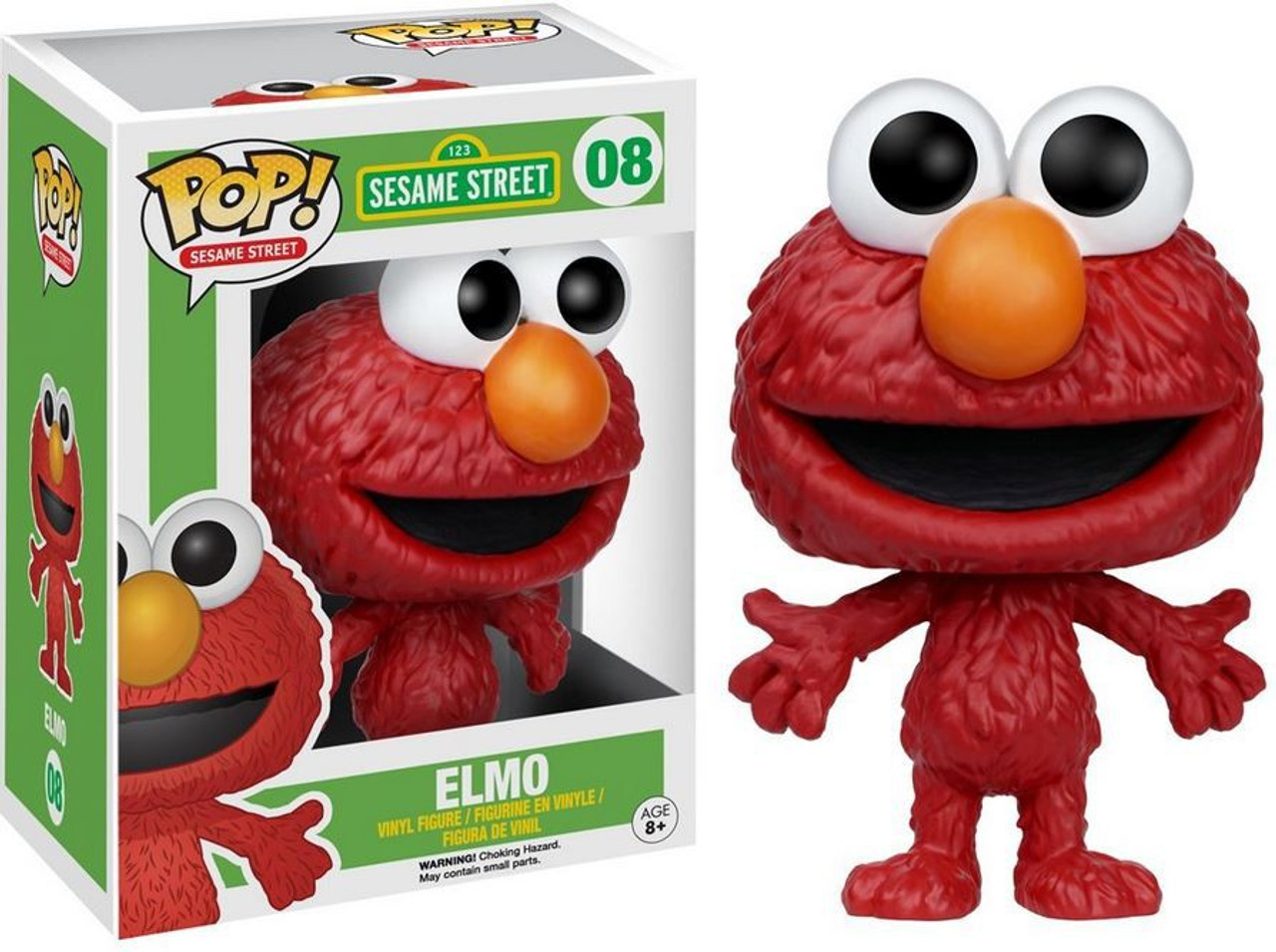 Funko Sesame Street Funko Pop Tv Elmo Vinyl Figure 08