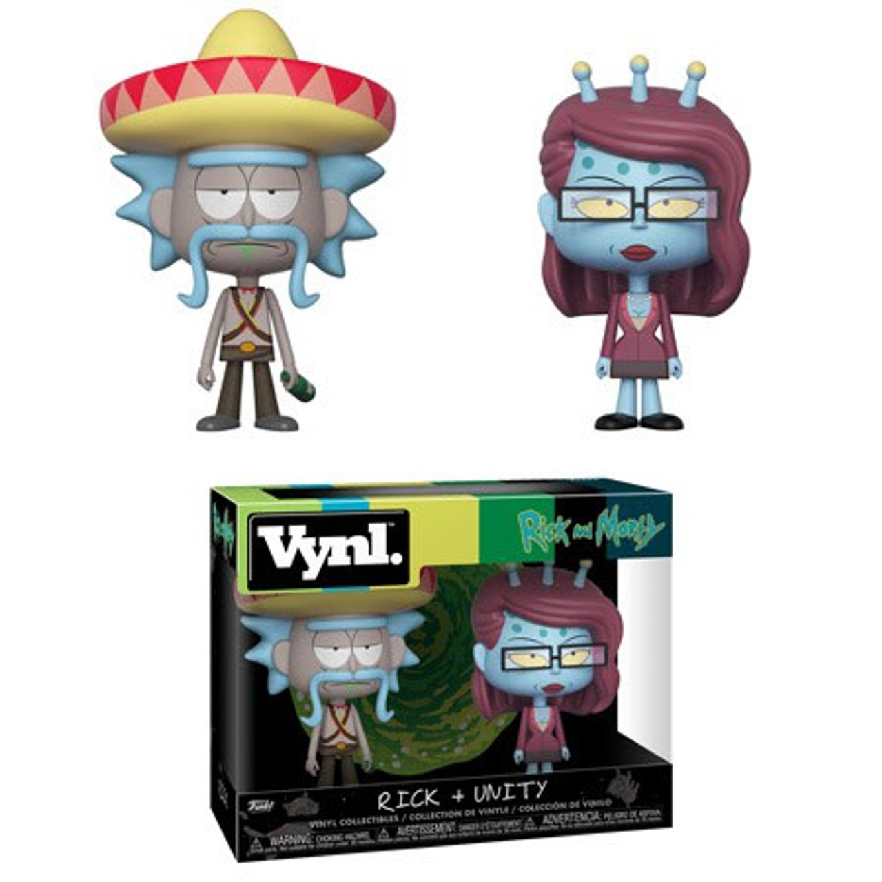 FUNKO POP ANIMATION: Rick /& Morty New Toys Vinyl Figure Unity