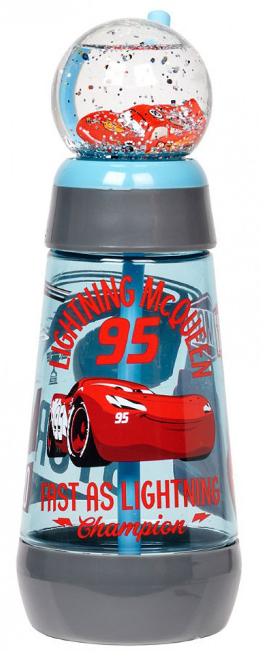 Disney Cars Cars 3 Snowglobe Tumbler with Straw Exclusive