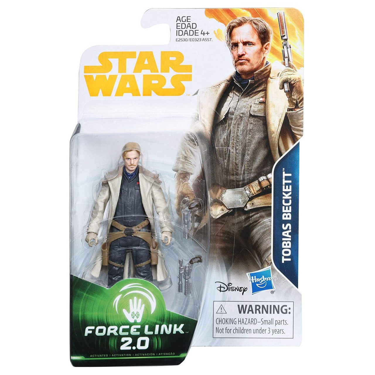 Solo Star Wars Histoire Force Link 2.0 Tobias Beckett Action Figure