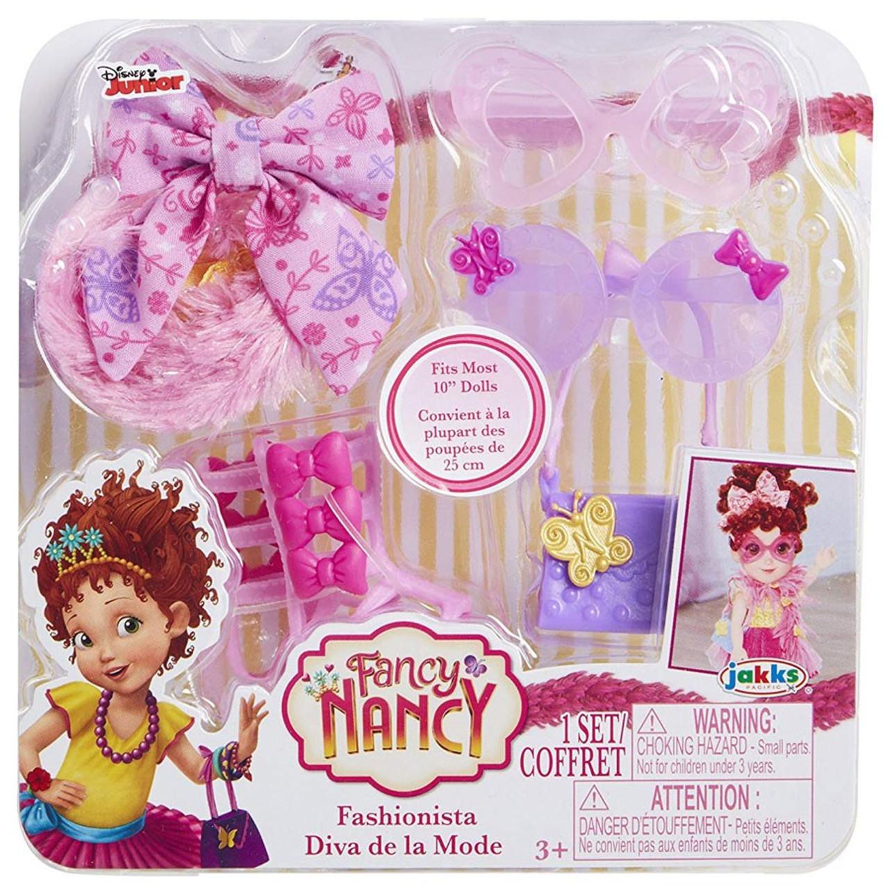 Garden Fairy and Sleepover Lot of 2 Disney Junior Fancy Nancy Accessories