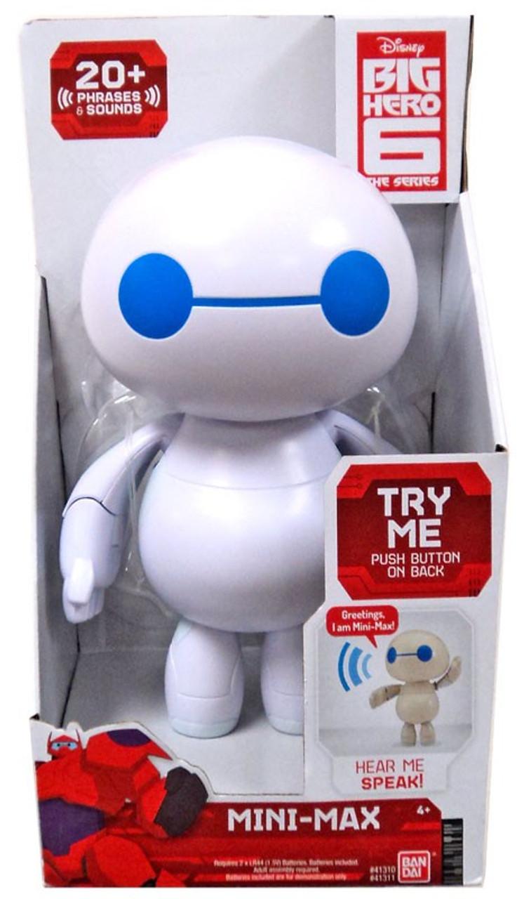 Disney Big Hero 6 The Series Mini Max 8 Figure With Sound Talking Toywiz